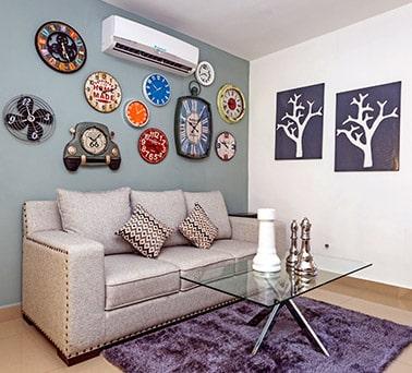 Foto de casas en Escobedo, N.L. Anáhuac San Patricio, modelo Ibiza VI, estancia.