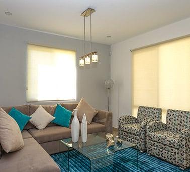 Foto de casas en Escobedo, N.L. Anáhuac San Patricio, modelo Ibiza VI, sala.